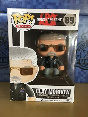 Funko Pop Television Sons Of Anarchy Vaulted 89 Clay Morrow Vinyl Figure