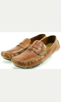 59c2d9f18c5 NEW! COLE HAAN Motogrand Venetian Loafer Driver Shoe Brown Leather ...