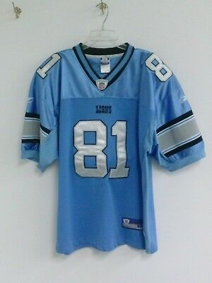 MEN'S NFL REEBOK Calvin Johnson Detroit Lions Stitched Jersey  for cheap