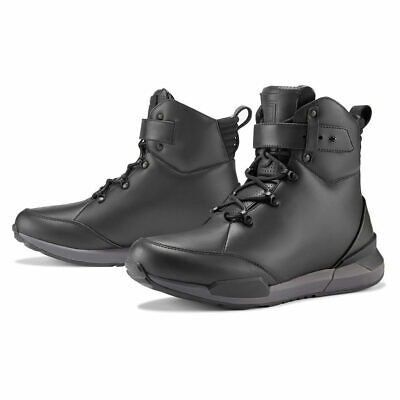 Icon 1000 Varial Motorcycle Boots Black | All Sizes