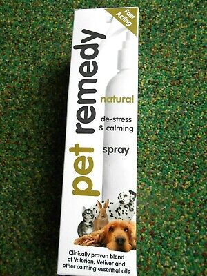 PET REMEDY NATURAL DE STRESS  & CALMING SPRAY 200ml NEW