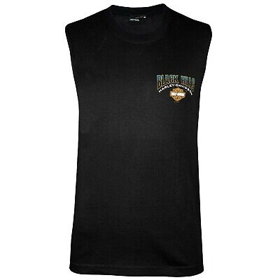 Black Hills Harley-Davidson® Men's Patriot Black Sleeveless T-Shirt