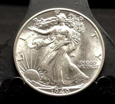 1940 50c Walking Liberty Half Dollar AU/MS (1355)
