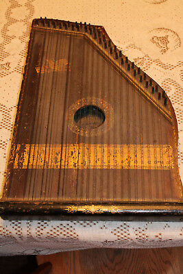 Antique Mandolin Harp - VERY OLD!!!