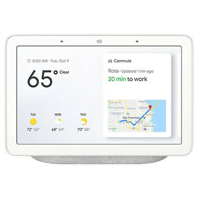 Google Home Hub with Google Assistant Chalk - GA00516-US