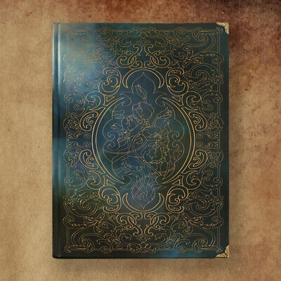 Elegant Vintage Hardcover Notebook Lined Paper Retro Writing Journal Diary Book