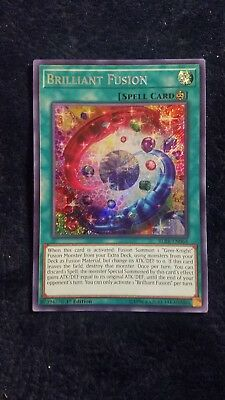Verzamelingen 1x Secret Rare Brilliant Fusion BLRR-EN064 1st Edition