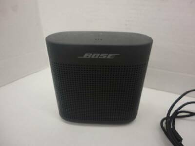 Bose Soundlink Color 2 Bluetooth Wireless Portable Speaker Ii Soft Black Renewed Consumer Electronics Audio Player Docks Mini Speakers Consumer Electronics Portable Audio Headphones
