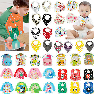 Infant Baby Bibs Apron Feeding Burp Clothes Saliva Towel Bandana Bib Waterproof