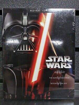 Star Wars | 6 Disc Set | IV V & VI | BluRay/DVD | NEW | Ships Fast