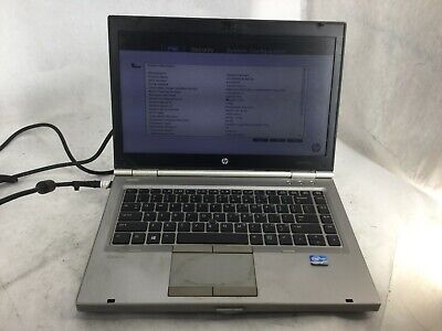 HP EliteBook 8470p Intel Core i5-3340M 2.7GHz 1gb RAM Laptop Computer -CZ
