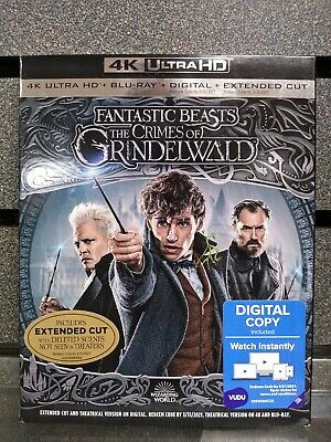 Fantastic Beasts | The Crimes of Grinelwald | BluRay/4K | NEW | Ships Fast