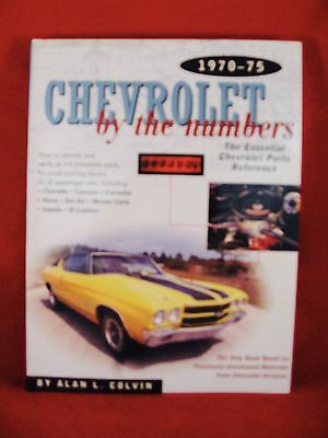 Chevrolet By the Numbers 1970-75: How to Identify and Verify All V-8 Drivetrain