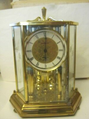 "Howard Miller Battery Powered Anniversary Clock, Works great, 10"" tall (CC-2)"