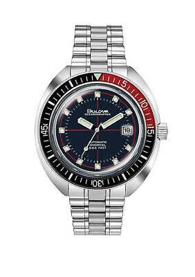 NEW Bulova Men's 98B320 Automatic Devil Diver Stainless Steel 44mm Watch