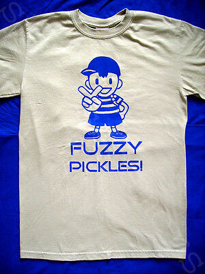 EarthBound Fuzzy Pickles T SHIRT (earth bound ness super smash bros melee brawl)