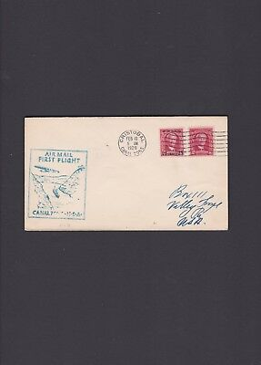 Canal Zone First Flight Cover, 1929, Cristobal to Valley Forge via Miami