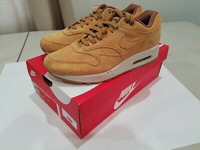 check out 8966c a470b Nike Air Max 1 Premium Wheat 875844-701 Size 8 Men s brand new