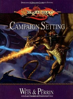 dungeons dragons campaign setting dragon lance campaign setting new