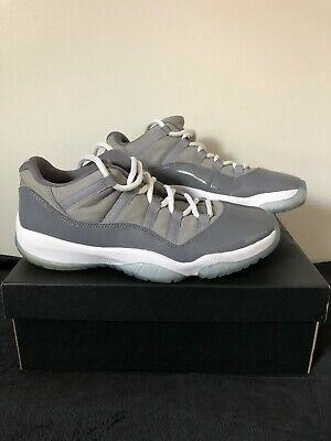 36f234a5741754 Men s Nike Air Jordan 11 Retro Low Cool Grey Size 10.5 Very Good Condition