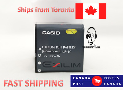 Casio NP-40 Lithium-Ion Battery (3.7v 1230mAh)