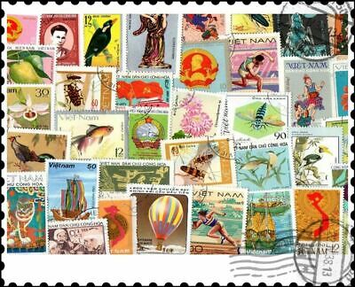 Vietnam : 100 Different Stamps Collection
