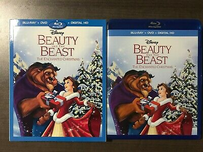Beauty and the Beast: The Enchanted Christmas(Blu-Ray + DVD) No Digital