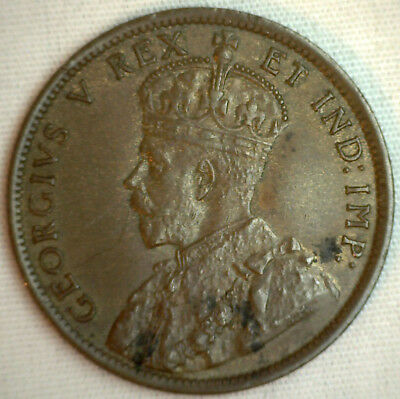 1911 Copper Canadian Large Cent Coin 1-Cent Canada VF #2