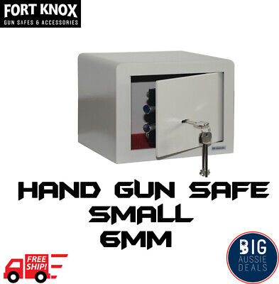 Pistol Safe hand Gun Ammunition Box Australian Regulation Compliant Ammo Box 6mm