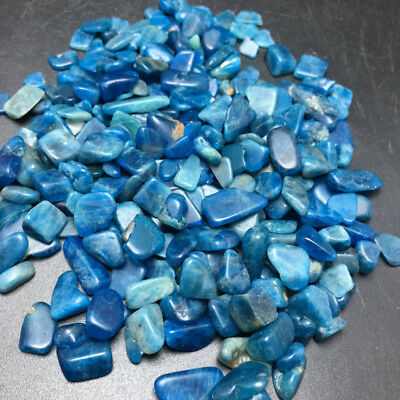 Blue Green Apatite Crystal Stone Natural polishinG Mineral Specimen 500G