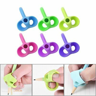AU Children Pencil Holder Pen Writing Aid Grip Posture Correction Device Tool EA