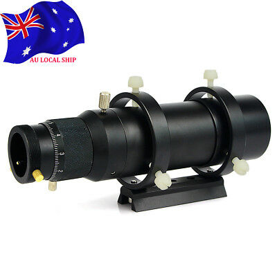 50mm CCD Imaging Guide Scope Finderscope w/Bracket For Astronmical Telescope AU