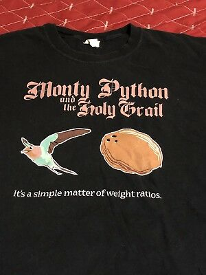 33b79620e VINTAGE MONTY PYTHON and the Holy Grail Movie Poster//Classic Movie ...