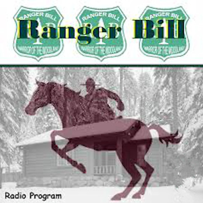 Ranger Bill Old Time Radio Show OTR 221 Episodes on 1 MP3 DVD Free Shipping