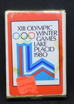 Vintage Congress Playing Cards XIII Olympic Winter Games Lake Placid 1980