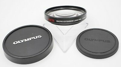 Olympus Camedia MCON-35 62mm Screw In Pro Macro Extension Lens Filter E-20 E-10