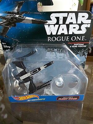 Star Wars Rogue One Partisan X-Wing Fighter HOT WHEELS (NEW)