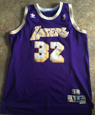 3f9a11016e5 NBA Los Angeles Lakers Adidas 1979-1980 Magic Johnson Hardwood Classic  Jersey XL