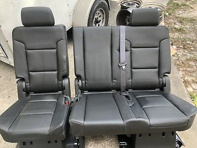 Magnificent 2007 2019 Tahoe Escalade Yukon Denali Second 2Nd Row Ocoug Best Dining Table And Chair Ideas Images Ocougorg