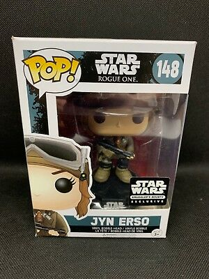 Funko POP! Star Wars Rogue One #148 JYN ERSO Smuggler's Bounty Exclusive Mint