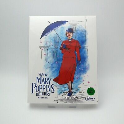 Mary Poppins Returns - Blu-ray Steelbook Full Slip Case Edition (2019)