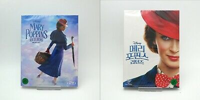 Mary Poppins Returns - Blu-ray, DVD Slip Case Edition (2019)