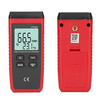 UT333S Portable Digital LCD Temperature and Humidity Meter Hygrothermograph