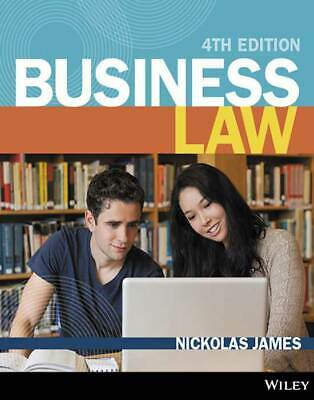 Digital PDF Business Law 4th Fourth Edition Wiley By Nickolas James Accounting