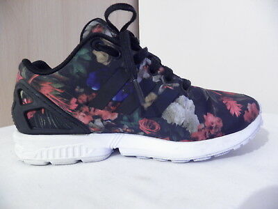 official photos 53058 86175 ADIDAS ORIGINALS ZX FLUX Women s Floral Trainers Sneakers sizes UK 4.5