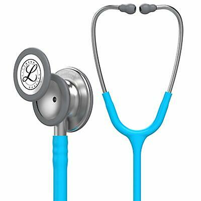 3M Littmann Classic III Stethoscope Single-piece Tunable Diaphragm Turquoise New