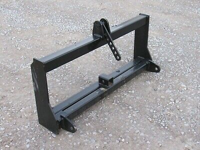 Skid Steer Quick Attach to 3 Point Hitch Tractor Attachment Conversion Adapter
