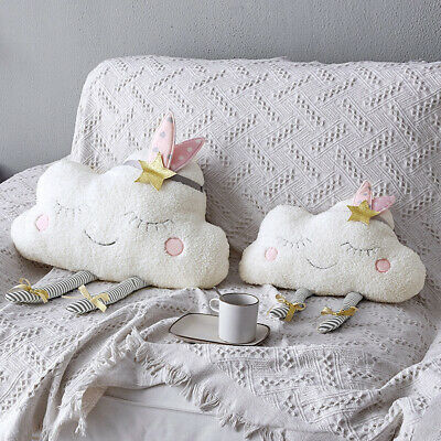 Baby Bedding Mother & Kids New Comfortable Novelty Fashion Cute Soft Creative Cloud Shaped Plush Stuffed Baby Pillows Bed Cushion Toys Home Sofa Car Decor