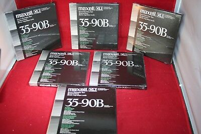 MAXELL XLI 35-90B Master Recording Tape 1800' Brand New Sealed For 1 tape 7 inch
