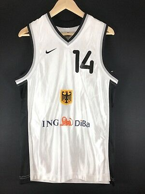 Authentic Nike DriFit Dirk Nowitzki Germany NBA Basketball Trikot Jersey S XS 36